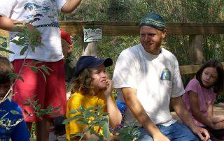 Kids in nature camp
