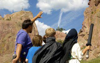 Kids at outdoor camp in Boulder