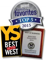 Voted best summer camp in Colorado, 3 years running