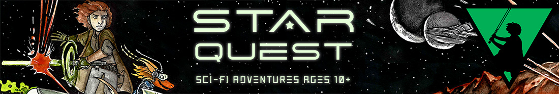 Star Quest, a Science Fiction Camp for kids 10+
