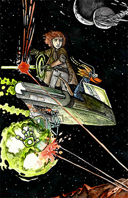 Star Quest - science fiction summer camp for kids