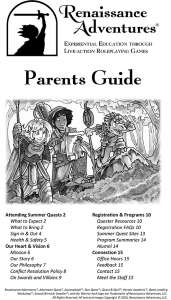 Download our parent's guide